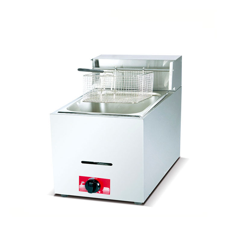 XD-燃氣單缸單篩炸爐