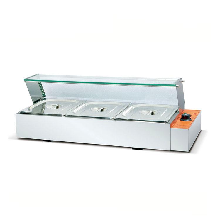 XD-臺式電熱湯池連玻璃罩(3/4/5盆
