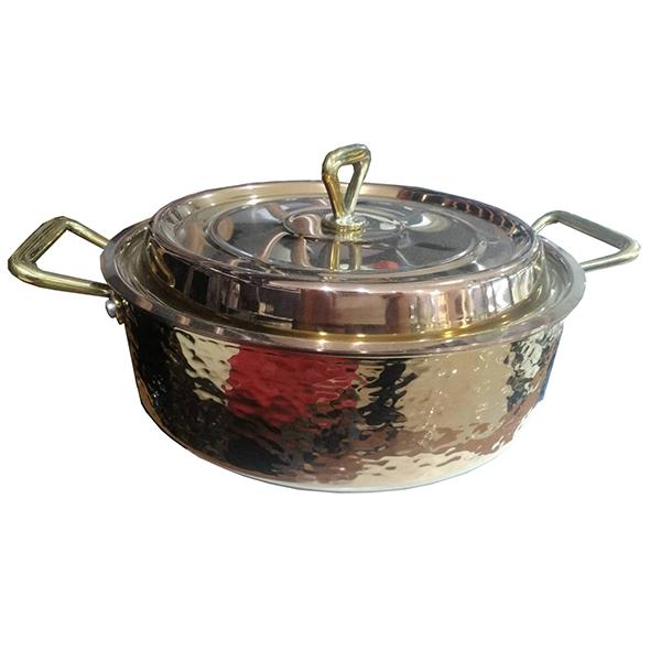 XD-三層鋼鍍金錘印淺湯鍋