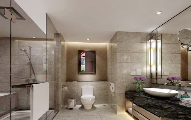 别墅装修整体卫浴怎么好看又实用